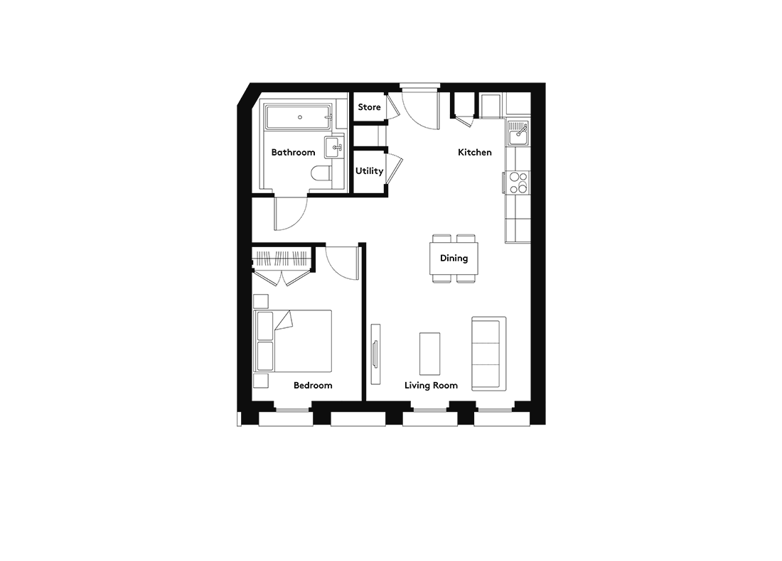 Linter – 802 floorplan