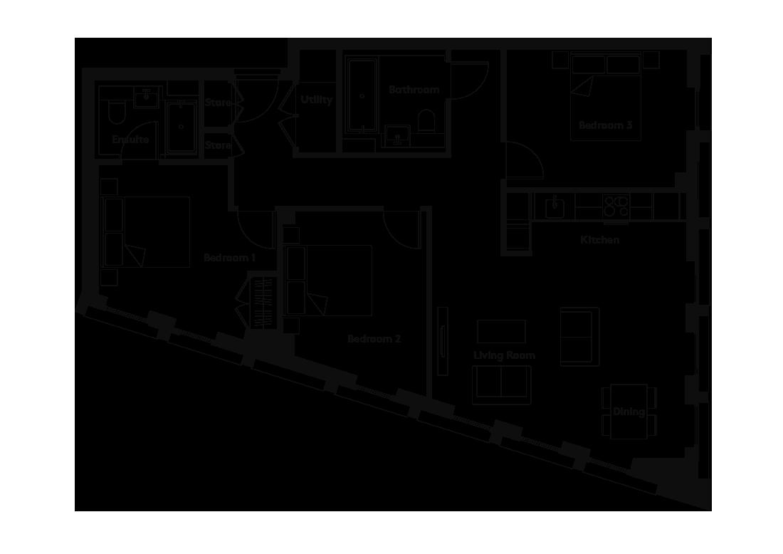 Linter – 1301 floorplan