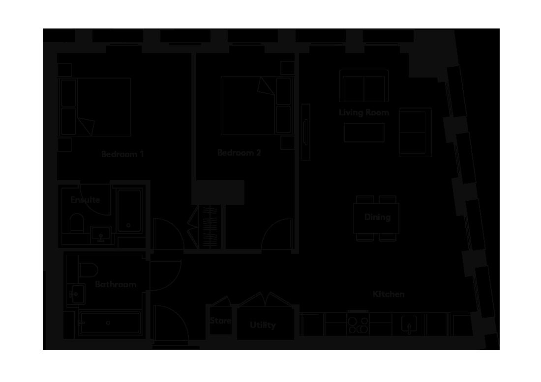 Carding – 107 floorplan