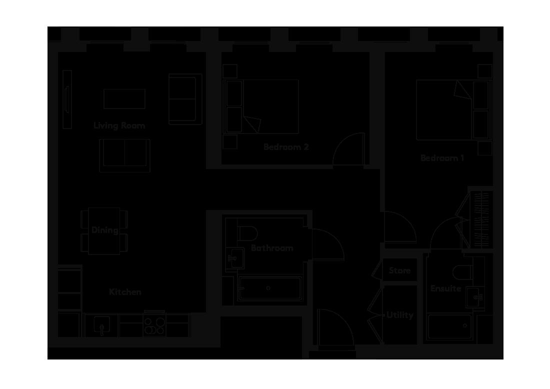 Carding – 105 floorplan