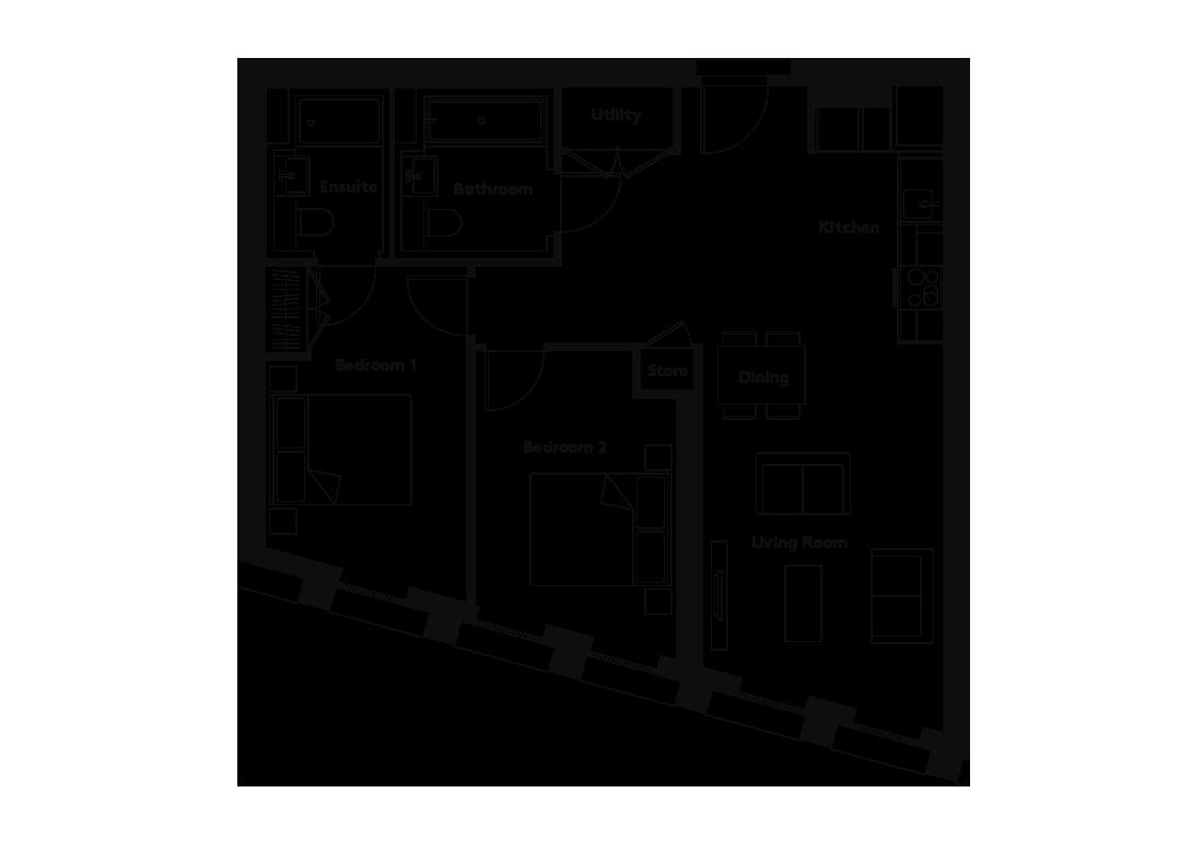 Carding – 202 floorplan