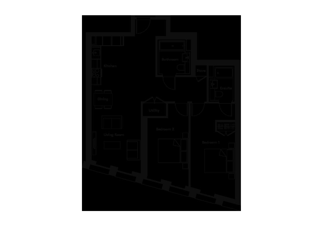 Carding – 701 floorplan