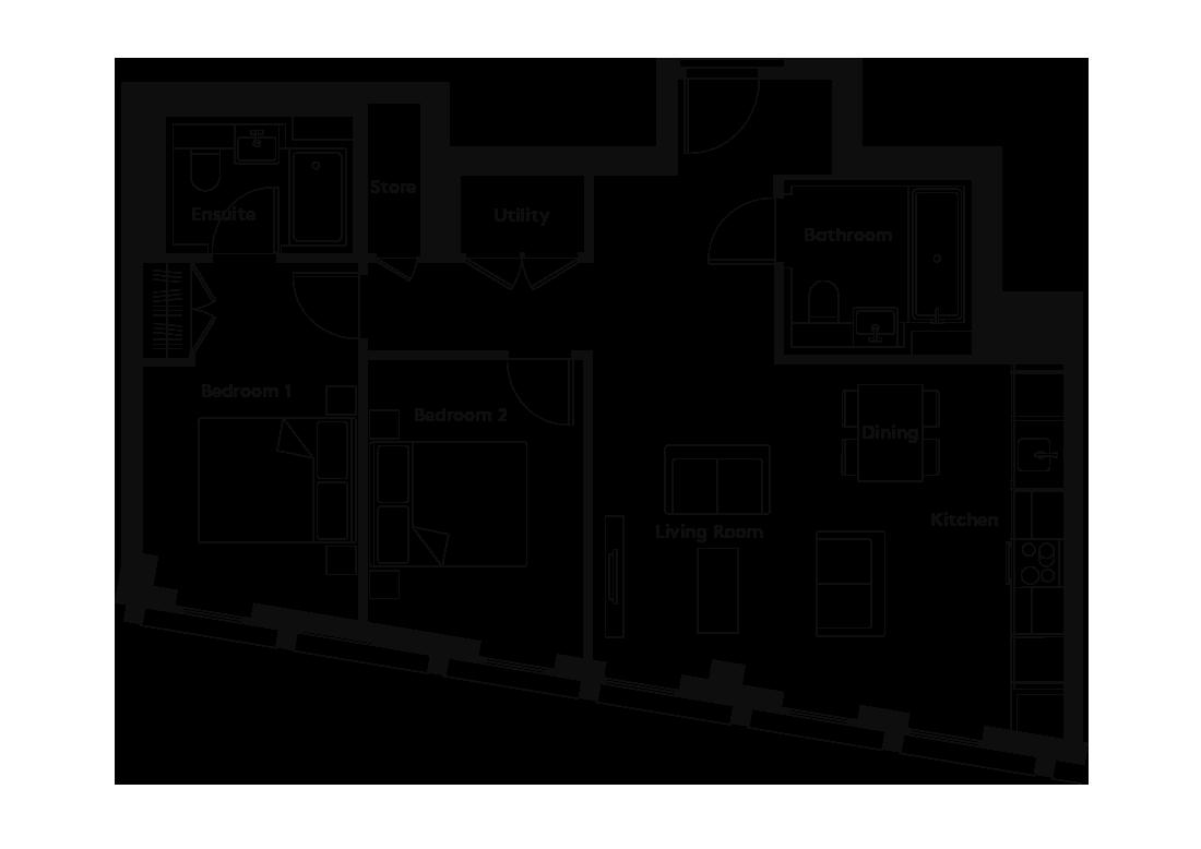 Carding – 1201 floorplan