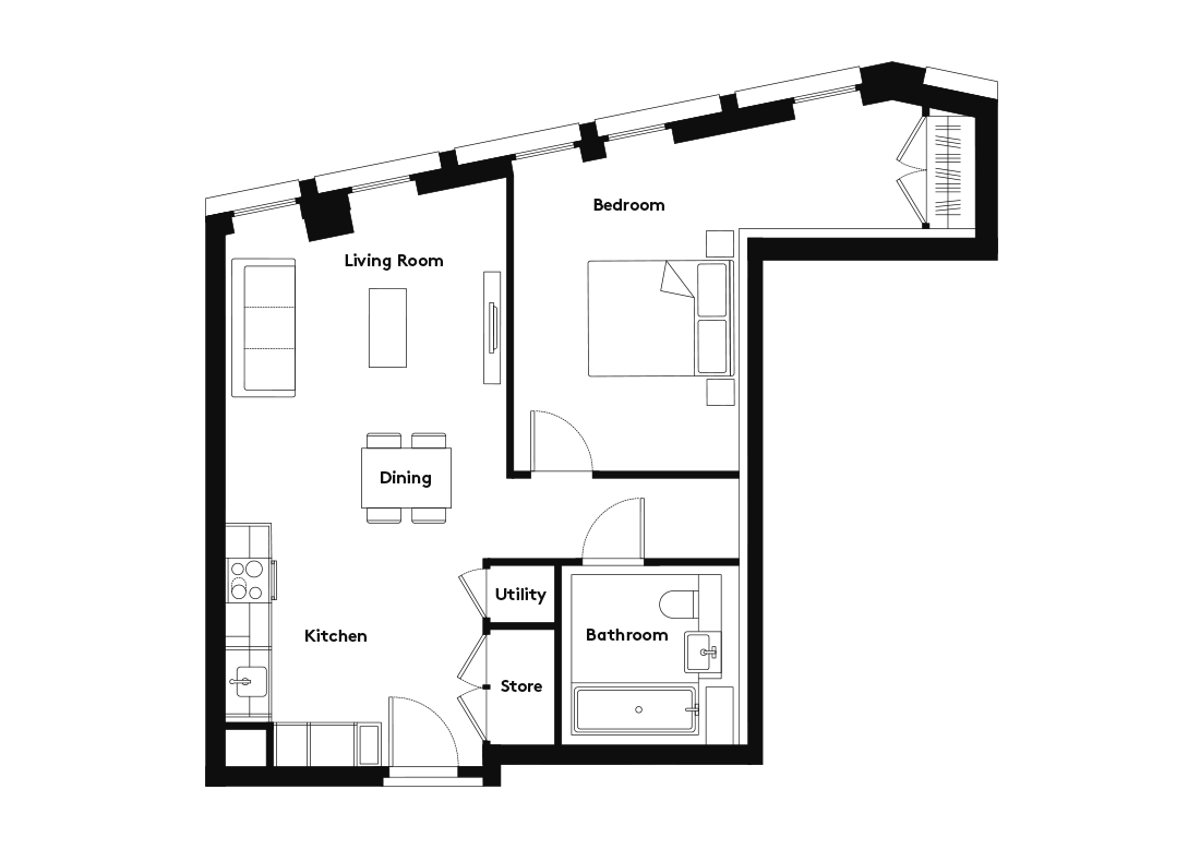 Calico – 1007 floorplan